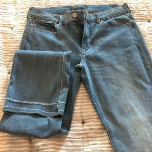 Express Barely Boot size 12 Jeans